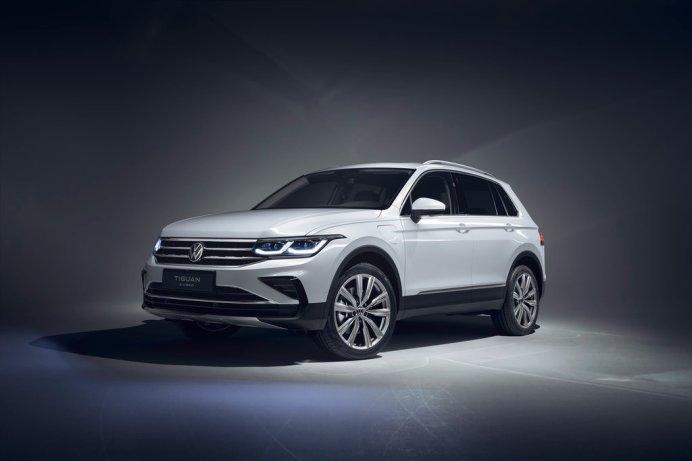Der neue Volkswagen Tiguan eHYBRID © Volkswagen