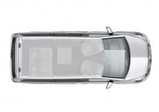 Mercedes-Benz Marco Polo: Grundriss. Foto: Auto-Medienportal.Net/Daimler