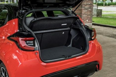 Der Kofferraum schluckt 286 bis 768 Liter. © Toyota