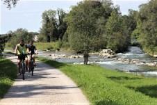 Hervorragend ausgebaute Fahrradwege lassen Strecken aller Ansprüche und Distanzen rund um Bad Aibling zu. © Sohnemann