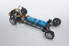 Das Akkupack liegt wie üblich im Wagenboden. © Opel