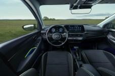 Komfortabel: der Innenraum des Kleinwagens. © Hyundai