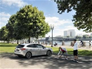 Wer sich für den e-Boxer entscheidet, profitiert dank der elektrischen Unterstützung des 110 kW/150 PS starken 2,0-Liter-Boxermotors ohnehin schon von einer besseren Beschleunigung und einem direkteren Ansprechverhalten. © Subaru