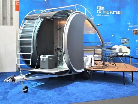 Die Caravan-Studie T@B to the Future entstand 2018 in einem Masterstudiengang an der TH Rosenheim.