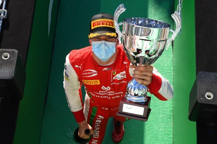 Mick Schumacher hat den Titel im Blick. © Ferrari