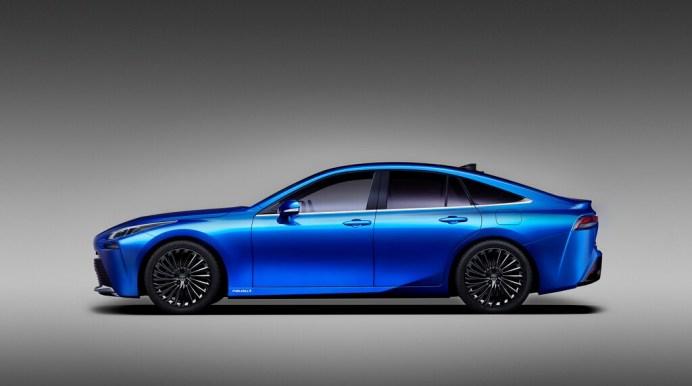 Toyota hält mit seinem Mirai an der Wasserstoff-Technologie fest - auch in zweiter Generation. @ Toyota