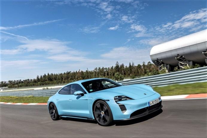 Porsche Taycan 4S.© Porsche