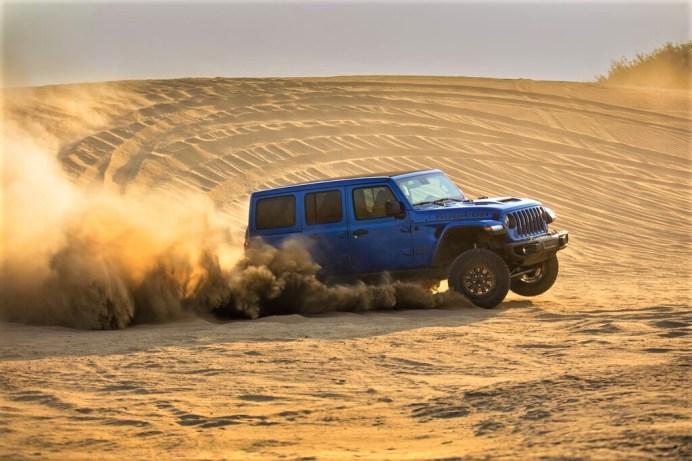 Noch bessere Geländegängigkeit mit größeren Böschungswinkeln und einer Wat-Tiefe von bis zu 825 Millimetern. Foto: Jeep
