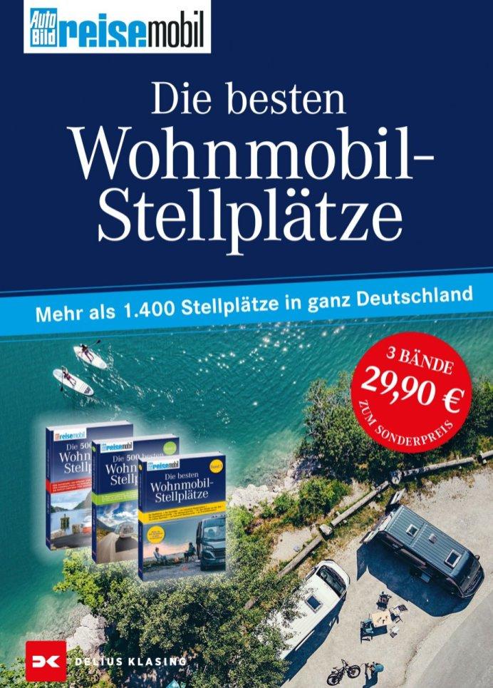 Wohnmobil-Stellplätze. @ Delius Klasing Verlag