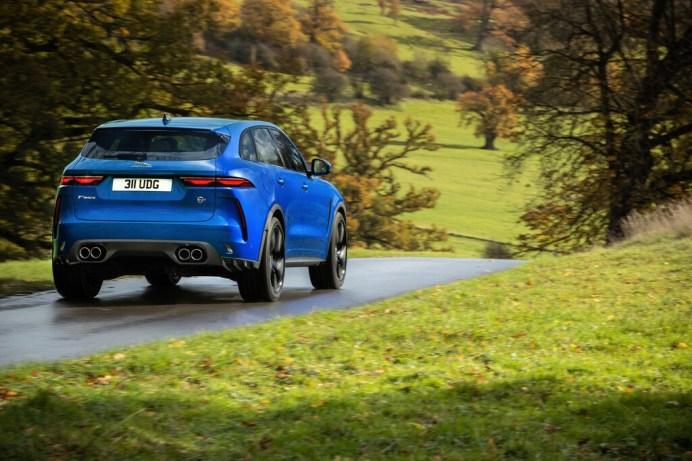 Jaguar F-Pace SVR. Foto: Auto-Medienportal.Net/Jaguar
