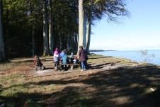 Rastplätze und Feuerstellen für das Picknick sind an den Küsten Südjütlands keine Seltenheit. © Kurt Sohnemann