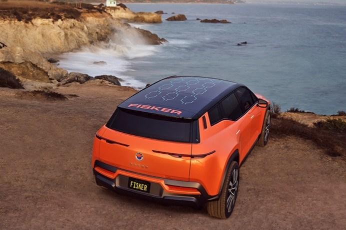 Kommt Ende 2022 auf den europäischen Markt: das Elektro-SUV Fisker Ocean. © Magna