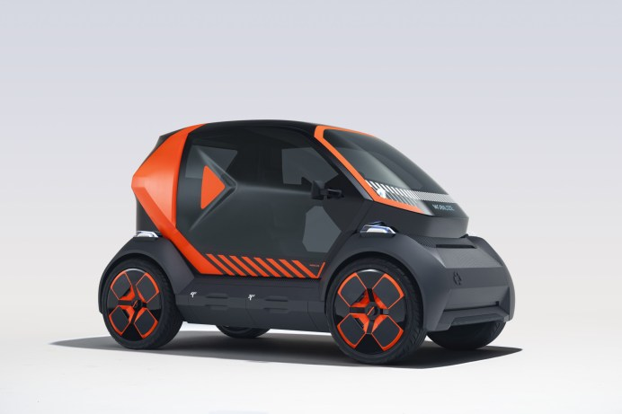 Fast wie der Ur-Smart: Der EZ-1 Prototype von Renault-Tochter Mobilize ist nur 2,3 Meter lang. © Renault