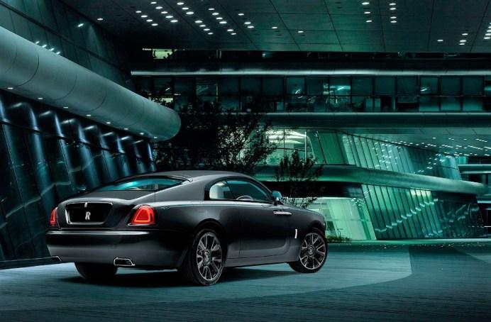 Geheimnisumweht: der auf 50 Exemplare limitierte Rolls-Royce Wraith Kryptos. © Rolls-Royce