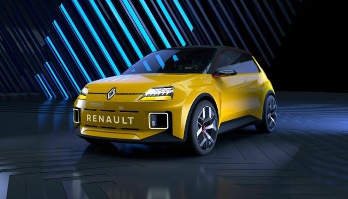 Kleiner Charmeur: Der R5-Prototyp bringt die Essenz der Marke renault auf den Punkt. © Renault