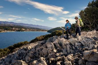 Der Trail Capo Fronte auf der Insel Rab. Foto: Petar Lupic