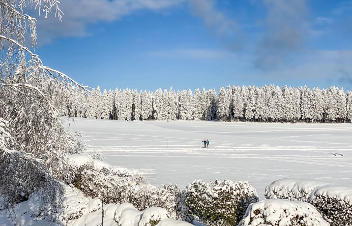 Die Winterloipe am 4-Sterne-Superior-Genießerhotel Bergergut. Foto: Bergergut
