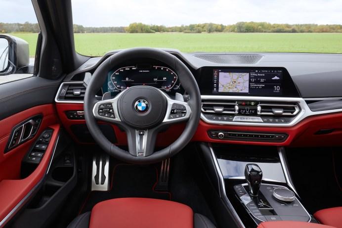 Das Infotainment-System im BMW M340i ist laut eines aktuellen Tests sehr gut. © BMW