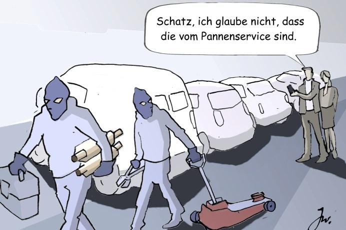 Polizei, Versicherer und Automobilclubs registrieren eine steigende Zahl von Katalysator-Diebstählen. © Goslar Institut