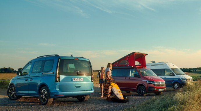 California-Modelle von Volkswagen. Foto: Auto-Medienportal.Net/Volkswagen