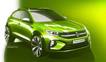 Volkswagen gibt einen ersten Ausblick auf sein neues sportliches SUV-Coupé, das Ende des Jahres auf den Markt kommen wird. © Volkswagen