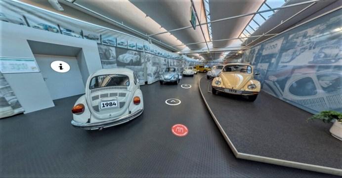 360-Grad-Rundgang im Automuseum Volkswagen. Foto: Auto-Medienportal.Net/Volkswagen
