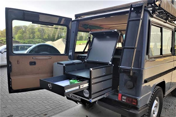 Ello Camping bietet maßgeschneiderte Camping-Boxen für eine sehr große Anzahl unterschiedlicher Vans, Kombis, Hochdachkombis, SUV und Geländewagen. © Ello Camping