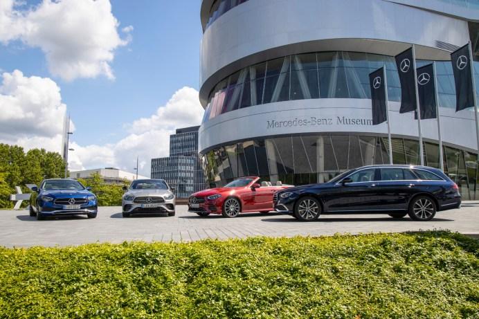 Die E-Klasse-Modelle gehören seit jeher zu den Erfolgsgaranten von Mercedes-Benz. © Daimler