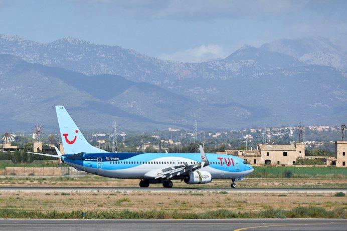 TUI fly bietet tägliche Flüge nach Mallorca und hat bald die komplette Sommerflotte mit 22 Maschinen in der Luft. © TUI