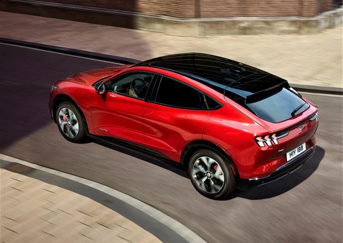 Schickes Design des Mach E. © Ford