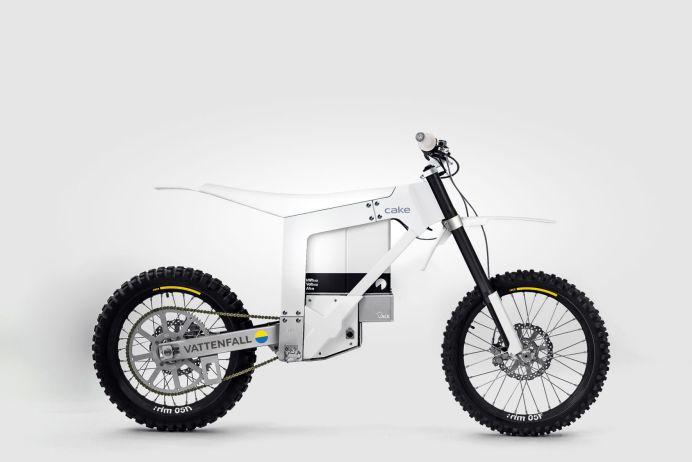 Das Öko-Bike im typischen Cake-Stil soll ohne die Nutzung fossiler Brennstoffe hergestellt und betrieben werden. © Vattenfall