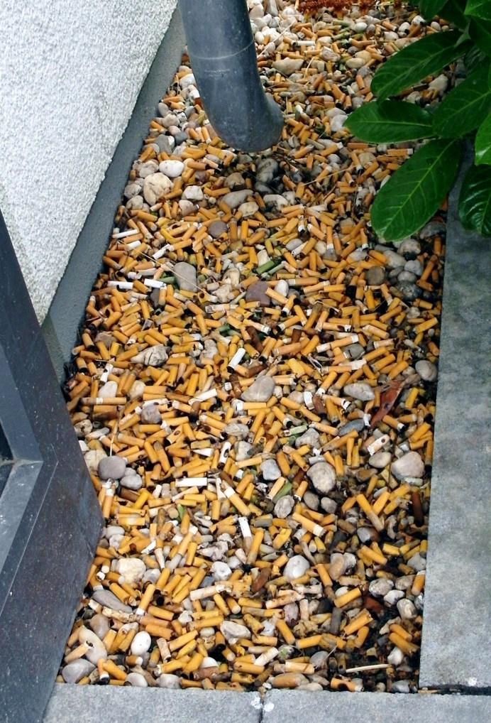 Zigarettenstummel. © Túrelio (via Wikimedia-Commons)
