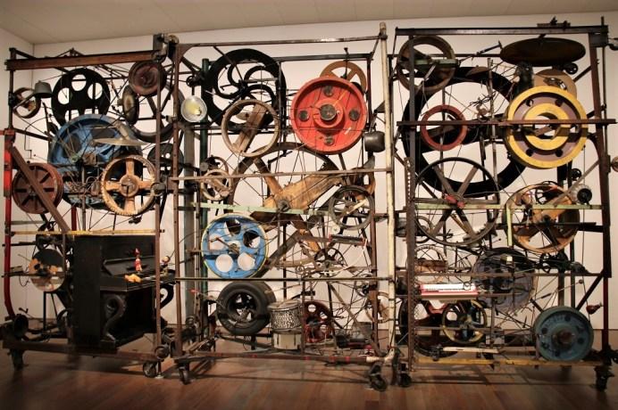 Eines der meistbesuchten Kunstwerke von Jean Tinguely im gleichnamigen Museum. © Kurt Sohnemann