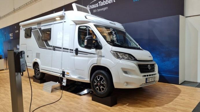 Knaus e-Powerdrive. Foto: Autoren-Union Mobilität/Michael Kirchberger