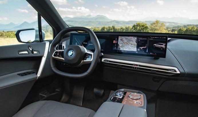 BMW iX. Foto: Autoren-Union Mobilität/BMW