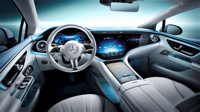 Mercedes EQE. Foto: Autoren-Union Mobilität/Daimler