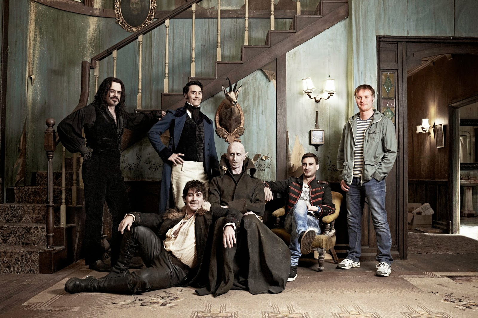 18 Zimmer Küche Sarg (OT: What We Do in the Shadows) » Die Academy
