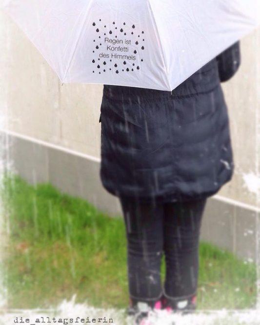 50 Fakten, Regen, Regenschirm