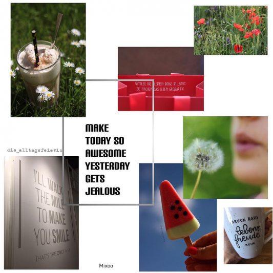 So ihr Lieben, es geht schon weiter mit der Konzeptentwicklung für die Galerie @die_alltagsfeierei und zwar wird sie nach dem grandiosen Vorschlag von Yasemin @ysmnkdrr eine Galerie für alle ALLTAGSFEIERINNEN (und -feierer, falls dort welche dazustoßen sollten ). * Hier geht es, ab sofort, um euch und eure Geschichten, Gedanken und Fotos, denn Alltagsfeierei und #druckrauslebensfreuderein darf ganz viel Platz und Priorität in unserem herrlichem Leben haben. * Jedes Mal wenn ihr so einen Moment in eurer Galerie mit einem Foto fixiert und so konserviert ♥️, dann verwendet ihr, wenn ihr mögt, den #alltagsfeierlicheherzhüpferei und gebt mir damit die Erlaubnis, dieses Foto hier mit in die Galerie aufzunehmen und zu zeigen. * Ich suche dann regelmäßig Fotos aus, erstelle auch mal Collagen und mische noch meine Alltagsfeierei dazu. * Jetzt hoffe ich so sehr, dass ihr genauso viel Bock darauf habt und mir zeigt wie ihr ein bisschen Alltagsfeierei mit in die Welt tragt. Ich freue mich ☺️. Nochmal kurz zusammengefasst wie es funktioniert: * a) in eurer Galerie ganz normal posten, was immer ihr mögt.... b) #alltagsfeierlicheherzhüpferei verwenden (damit ist die Erlaubnis zum Reposting erteilt) c) mich mit @die_alltagsfeierei verlinken (im Foto und/oder Text) d) dann bin ich dran . * Noch Fragen oder Ideen, immer her damit, denn es wird ja ein Gemeinschaftsprojekt ♥️. * Habt einen zauberhaften Vormittag #instaprojekt #alltagsfeierinnen #alltagsfeiereiindiewelt #glücklichmacher #simplethingsmadebeautiful #nothingisordinary #herzhüpfer #dasglückliegtindenkleinendingen #pusteblumen #kinderlachen #kaffeetrinken #blumen #eis #wasmachtdichzuralltagsfeierin #entschleunigung #diealltagsfeierin #diealltagsfeierei #alltagsfeierei #canoneos750d #photography #instacollage, 50 Fakten