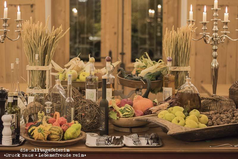 Suedtirol, Suedtiroler Apfel, Schlosswirt Forst, Algund, Dinner, Vorspeise, Angussteak
