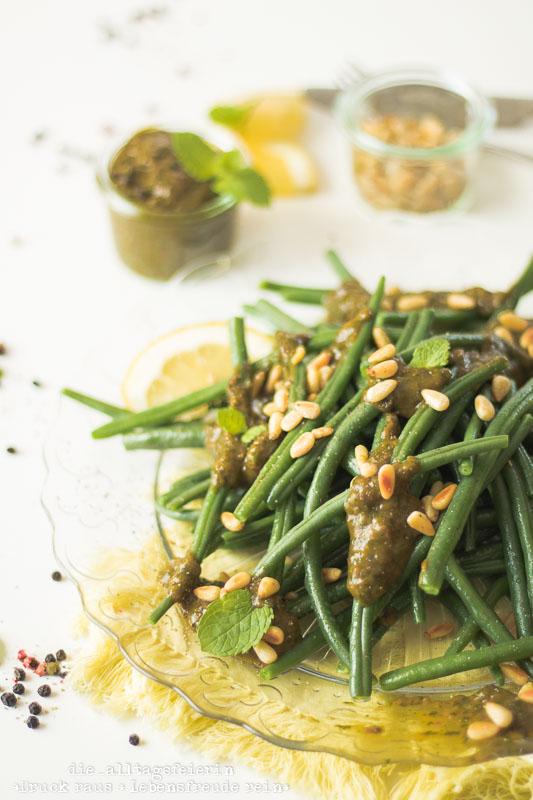 * Prinzessbohnen-Salat und 10 Foodstyling-Tipps *