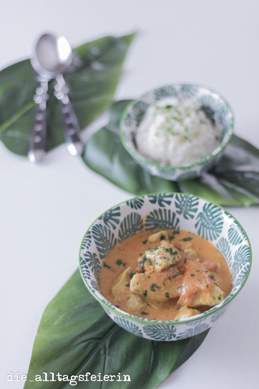 Chicken Tikka Masala auf alltagsfeierliche Art