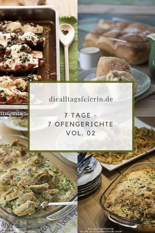 Speiseplan KW 35/18 * 7 Tage – 7 Ofengerichte, Vol. 02 *