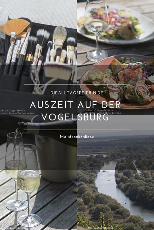Auszeit auf der Vogelsburg in Mainfranken Volkach in der Naehe von Wuerzburg in Mainfranken. Romantisch gelegen an der Mainschleife.