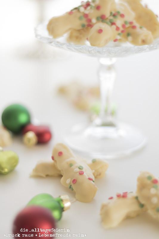 Weihnachtsbäckerei No. 10 * Konfetti-Stangen mit Schwips *