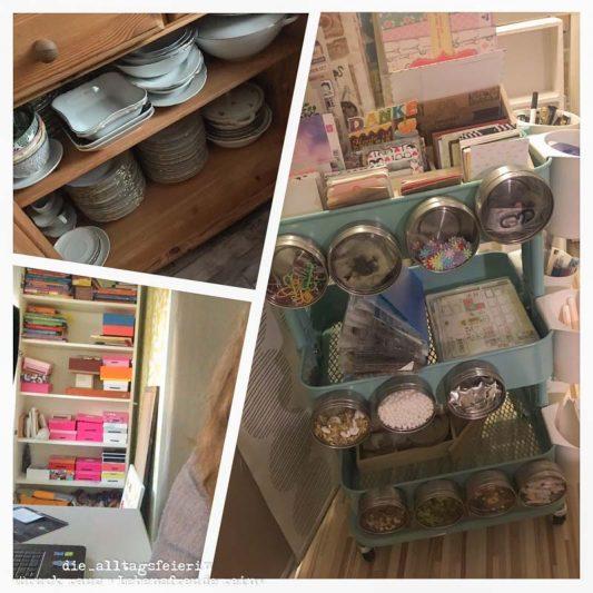 Ausmisten, diealltagsfeierin.de, Interior, Kitchen, Küche ausmisten, Kueche, Lebensmittel aufbewahren, Ordnung, Organisation, Ordnungssysteme, Bänder sortieren, Ringelbänder aufbewahren, Lebensmittel aufbewahren, Ausmisten, Routinen, Küche ausmisten, diealltagsfeierin.de, ue40 Blog, ue40 Bloggerin, Wochenglückrückblick, Wochenendfeierei