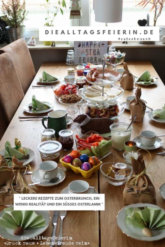 Osterbrunch, Rezepte zum Osterbrunch, brunchen, Frühstück zum Osterfest,