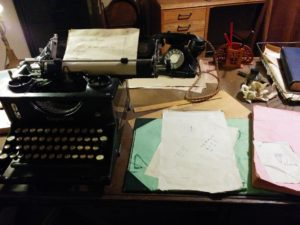 Alan Turing's desk Photo: Petra Breunig