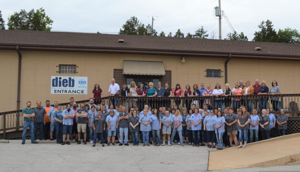 Dieb Enterprises Employee Group Photo