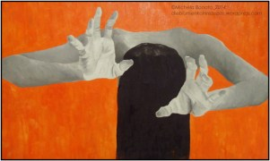 ὕ β ϱ ι ς / oil on canvas 2011